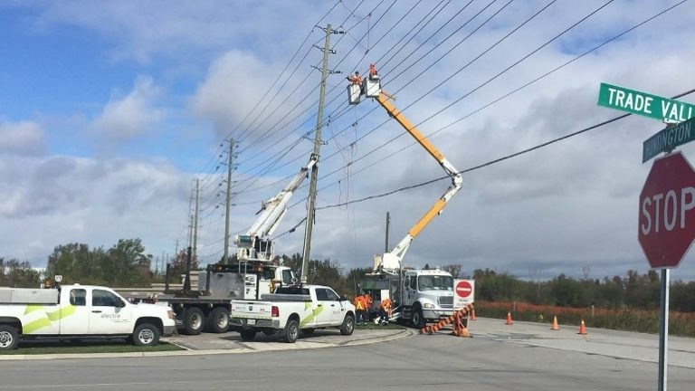 Alectra's linesworkers are on standby and ready to assist in the event of a storm. (CNW Group/Alectra Utilities Corporation)