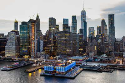 Pier 17 at the Seaport District – credit to C. Taylor Crothers on behalf of The Howard Hughes Corporation (PRNewsfoto/The Howard Hughes Corporation)