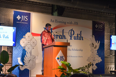 JIS hosted a fundraising event to celebrate the second year of its Bhinekka Tunggal Ika (BTI) scholarship program.