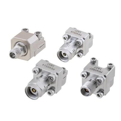 Pasternack推出带4种不同接口的可拆卸式毫米波末端装接PCB连接器