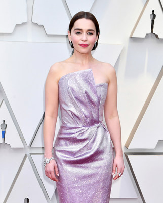 Presenter Emilia Clarke Graced the Red Carpet of the 91st Academy Awards® Wearing NIWAKA Fine Jewelry