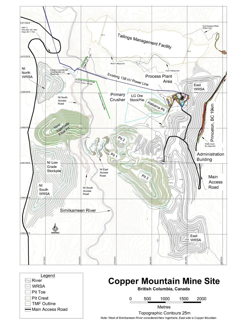 APPENDIX 3: Proposed Site Layout (CNW Group/Copper Mountain Mining Corporation)