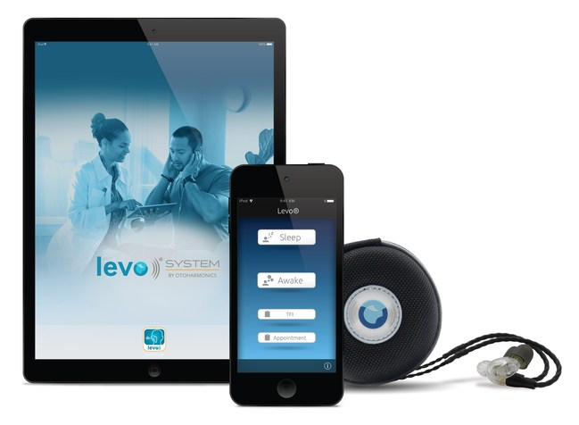 Levo System for tinnitus sleep therapy