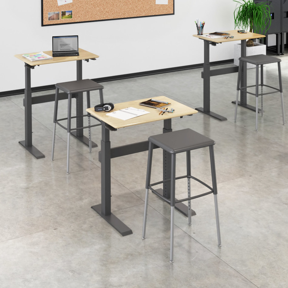 Sit-Stand SchoolDesk by VARIDESK