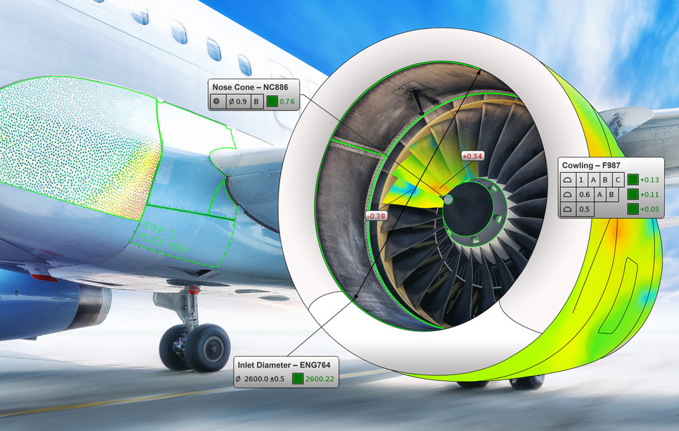 FARO BuildIT Metrology Software is ideal for inspection, build and alignment applications.