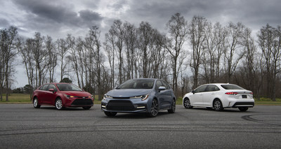 The 12th-generation Toyota Corolla's bold new look brings efficiency, no matter the grade.