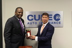 The African American Chamber Of Commerce Of New Jersey Presents Eric Poe With 'Economic And Social Justice Ally Award'