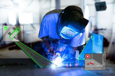 O FARO BuildIT Projector permite que um FARO TracerSI Imaging Laser Projector execute a modelagem para aplicações de soldagem. O BuildIT e o TracerSI também realizam a Verificação durante o Processo conforme as etapas do processo de montagem determinadas pelo usuário.