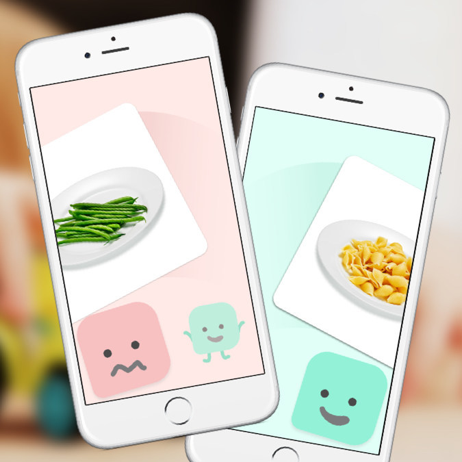 "The Picky Eating app allows child participants to sort foods as ""yummy"" or ""yucky"". Parents will sort what they think their child's preferences are, and then they are able to see where there is a mismatch between what they think their child will or won't eat and how the child responds."