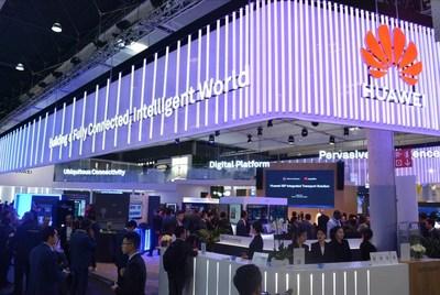 Huawei Enterprise está expondo pela primeira vez no MWC19 Barcelona. (PRNewsfoto/Huawei)