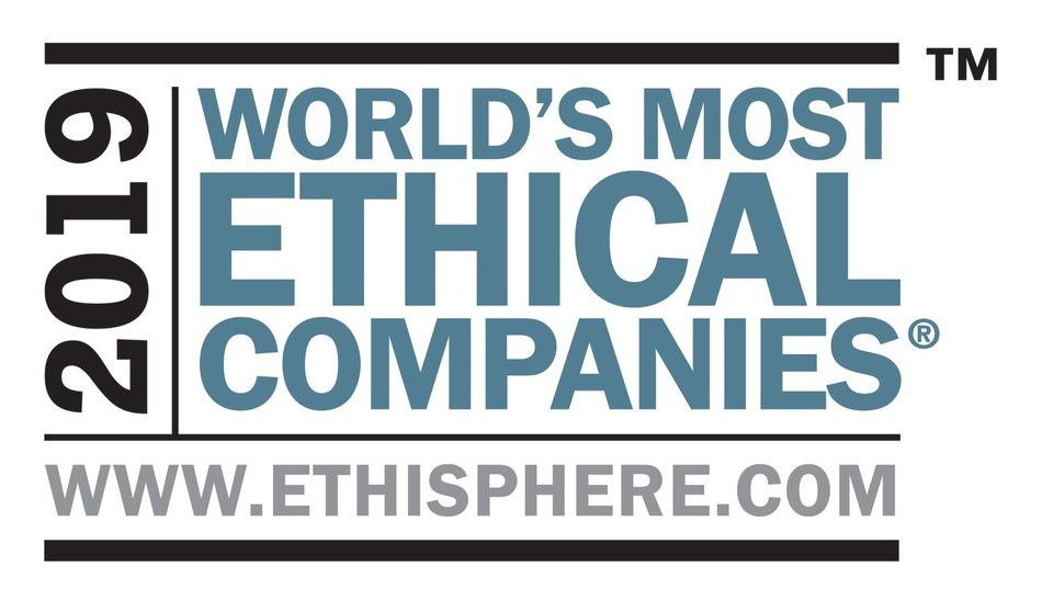 The Ethisphere Institute has named Aflac to its 2019 list of World's Most Ethical Companies. This is the 13th consecutive year that Aflac has appeared on the prestigious list, making them one of only 8 companies worldwide to appear on the list every year since its inception in 2007.