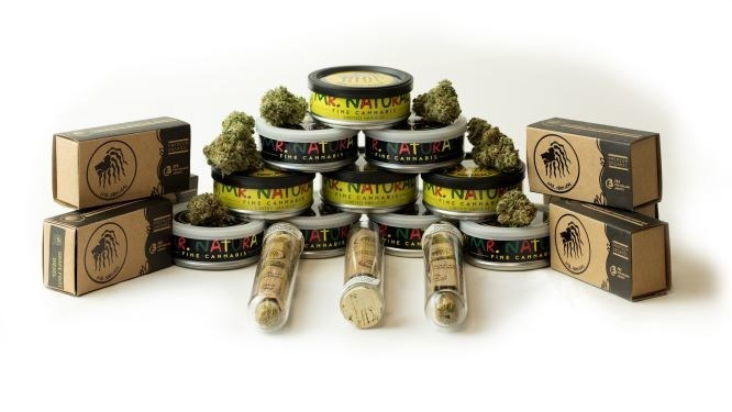 Premium Cannabis Products by Mr. Natural (CNW Group/Australis Capital Inc.)