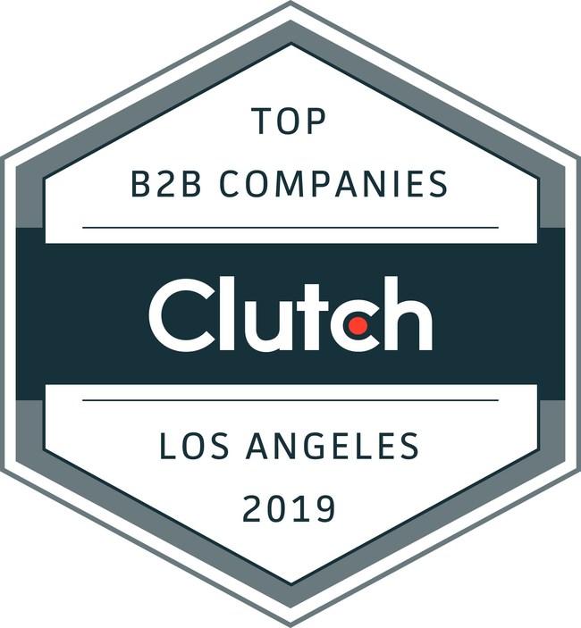 Clutch Leaders Award - Top B2B Companies in Los Angeles