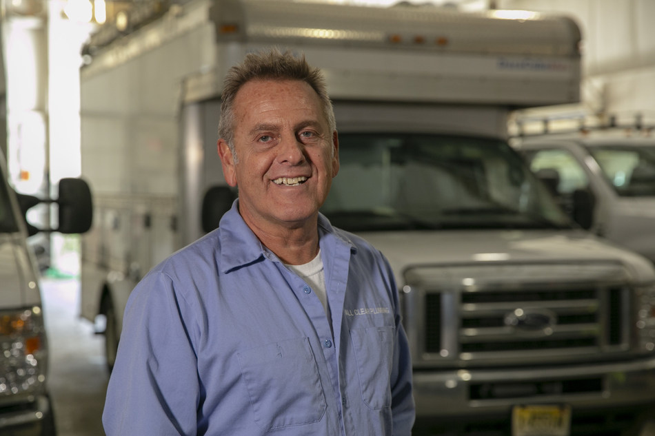 Lou Tropeano, owner of All Clear Plumbing