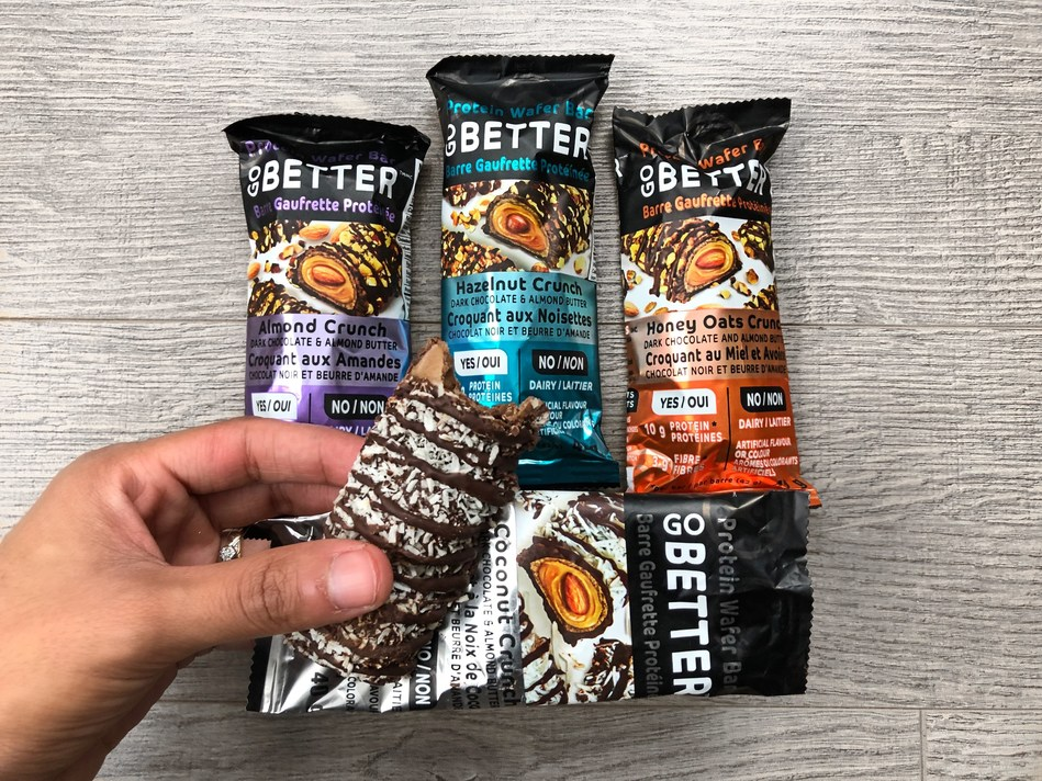 GO BETTER Protein Wafer Bars In Four Flavours