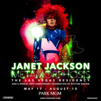 Global Music Icon Janet Jackson Announces Las Vegas Residency Metamorphosis At Park MGM