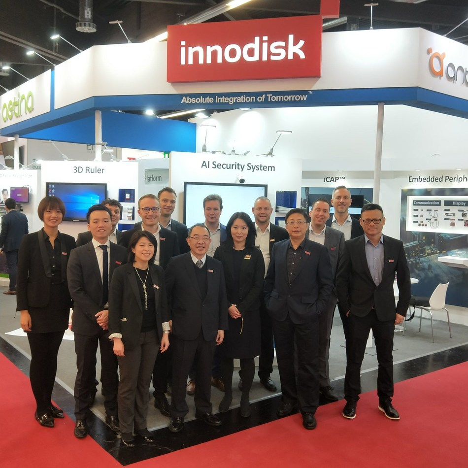 Innodisk is at Embedded World in Nuremberg to present its newest AIoT innovation for the embedded and industrial market
