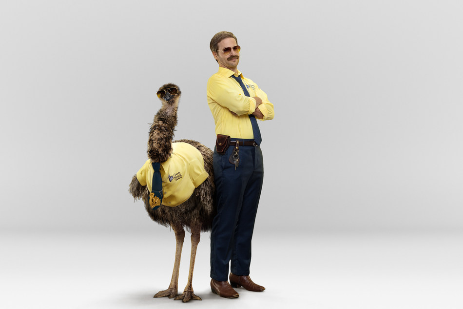 LiMu Emu and Doug star in Liberty Mutual Insurance's new ad campaign.  The duo appear in a series of spots to spread the word that Liberty Mutual customizes coverage so you'll only pay for what you need.