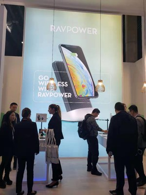RAVPower's Thinnest 14mm PD GaN Charger Dazzles MWC Barcelona 2019