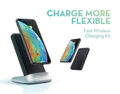 RAVPower 3 in 1 Fast Wireless Charging Kit