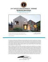 2019 Winners (CNW Group/Canadian Wood Council for Wood WORKS! BC)