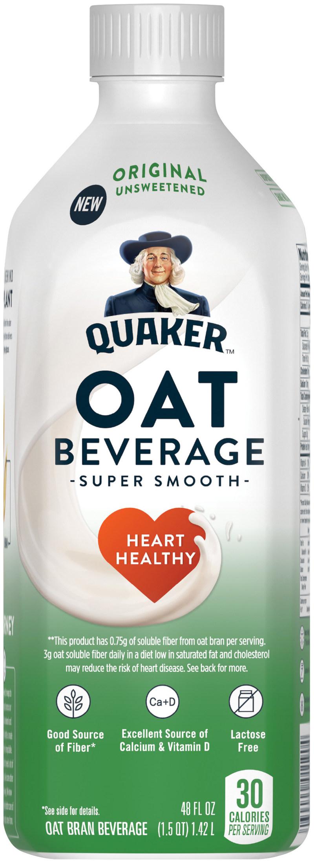 Original Unsweetened Quaker Oat Beverage
