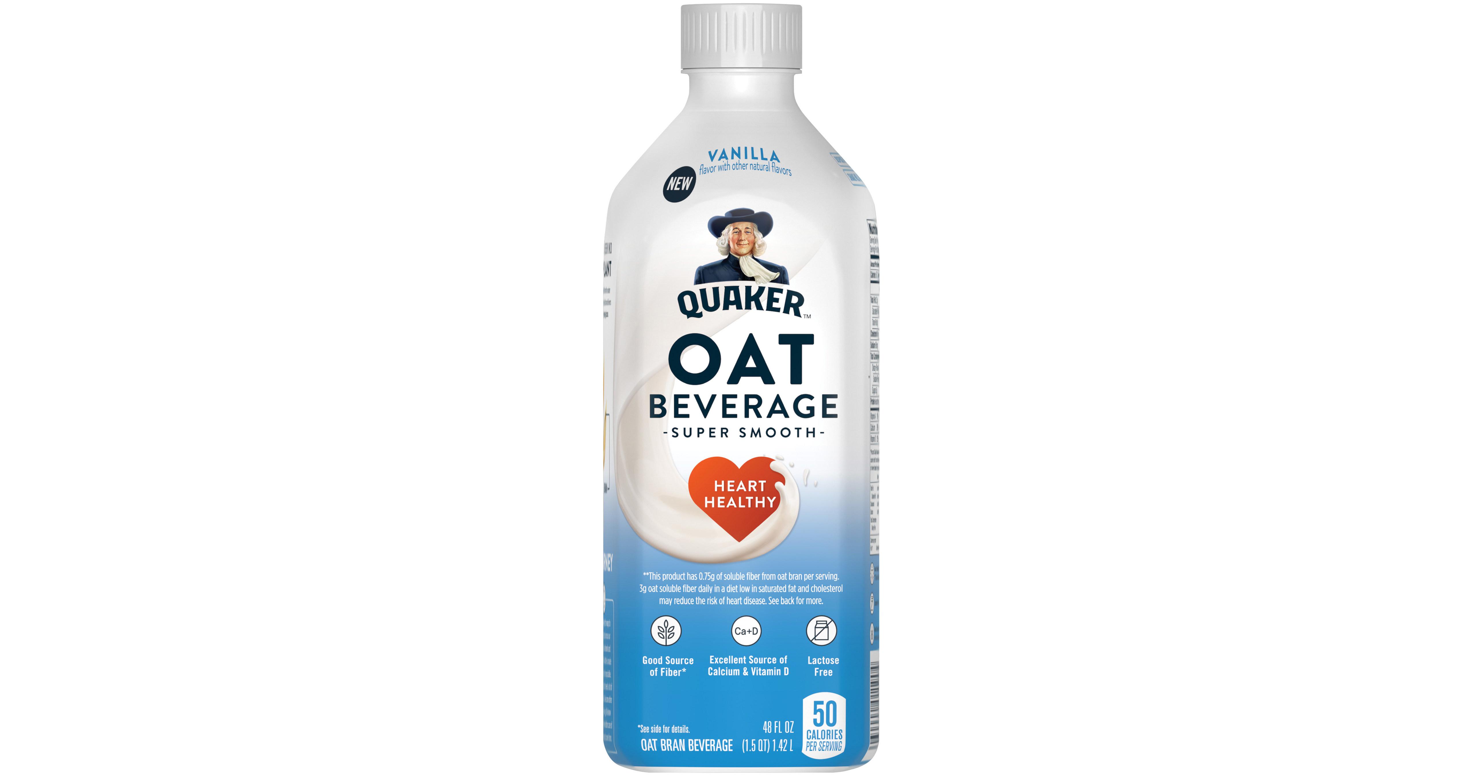 Quaker Oat Beverage Splashes Into Dairy-Alternative Market