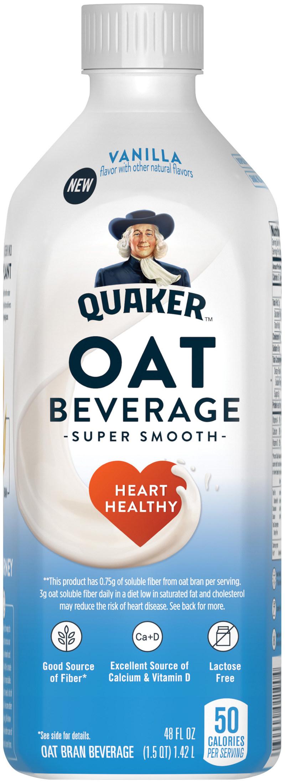 Vanilla Quaker Oat Beverage