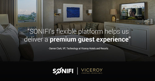 The luxury hotel - L'Ermitage Beverly Hills - selected SONIFI's Interactive solution to add to its already premium guest experience.