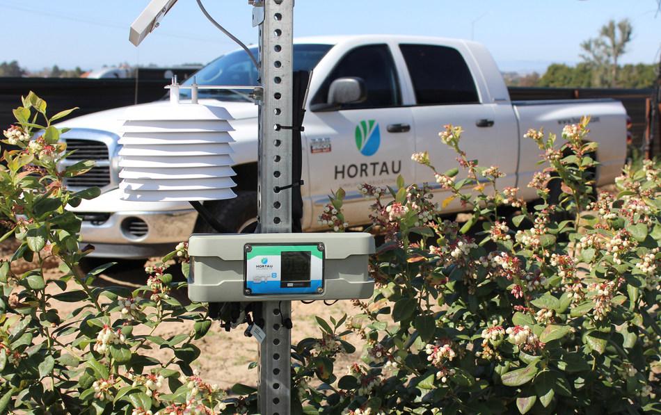 Hortau contribue à une gestion optimale de l'eau, des nutriments et de l'énergie dans les productions agricoles. (Groupe CNW/Hortau)