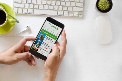 Global employee engagement company Reward Gateway launches mobile app to connect and celebrate employees anytime, anywhere (PRNewsfoto/Reward Gateway)