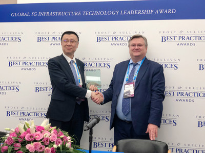 ZTE Wins the 2018 Global 5G Infrastructure Technology Leadership Award
