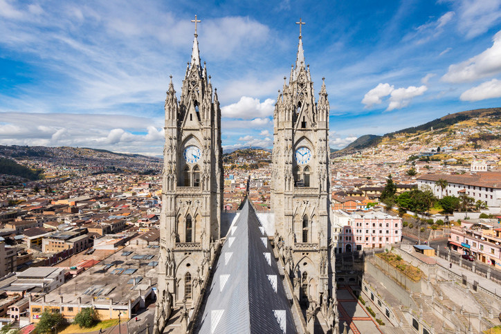 Air Canada to Launch Service to Quito from Toronto, the first non-stop flight between Canada and Ecuador. (CNW Group/Air Canada)