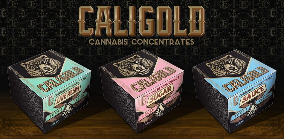 CALIGOLD launches Sugar, Sauce and Live Resin cannabis concentrate products to dispensaries across California (CNW Group/High Hampton Holdings Corp.)
