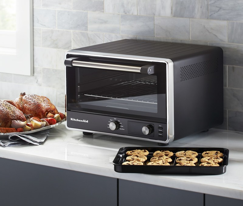 Kitchenaid Brings Full Size Oven Expertise To The Countertop