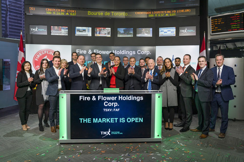 Fire & Flower Holdings Corp. Opens the Market (CNW Group/TMX Group Limited)