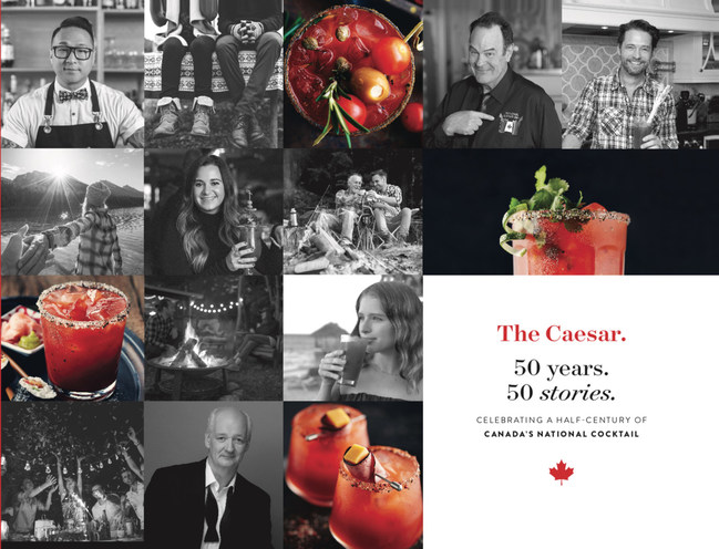 Limited edition book commemorates the 50th anniversary of The Caesar cocktail (CNW Group/The Caesar)