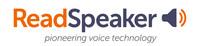 ReadSpeaker logo (PRNewsfoto/ReadSpeaker)