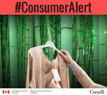 """Is that bamboo fabric as """"green"""" as you think? Learn the truth so you don't get bamboozled. (CNW Group/Competition Bureau)"""
