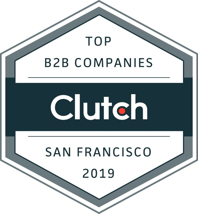 Clutch Leaders Award - Top B2B Companies in San Francisco