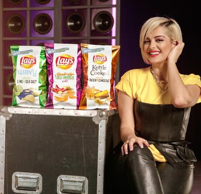 Lay's Partners With Bebe Rexha To Create Perfect Harmonies With First-Ever Music-Inspired Chip Flavors That Unlock New Custom Songs