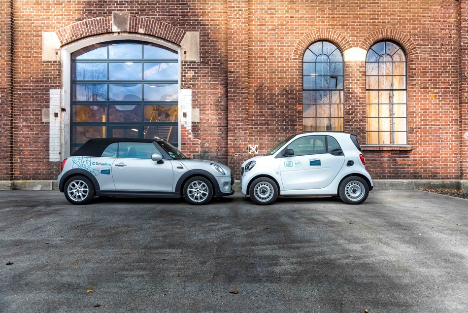 car2go and DriveNow join forces to become SHARE NOW, the largest free-floating carshare service in the world.