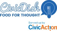 CivicAction is calling on all Greater Toronto and Hamilton Area residents to serve up their ideas for action on big urban challenges as part of its CivicDish campaign this March. (CNW Group/CivicAction)