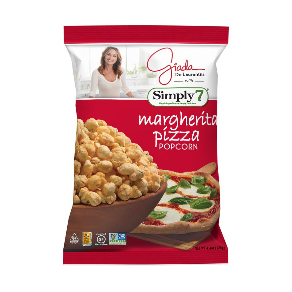 Simply 7 Margherita Pizza Popcorn