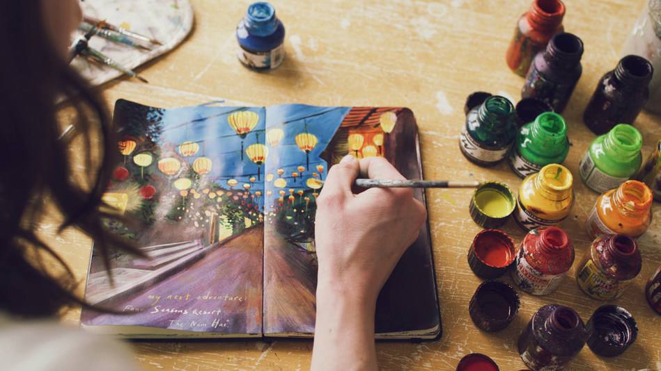 Visual artist Missy Dunaway will travel to Vietnam to create works inspired by Four Seasons experiences.