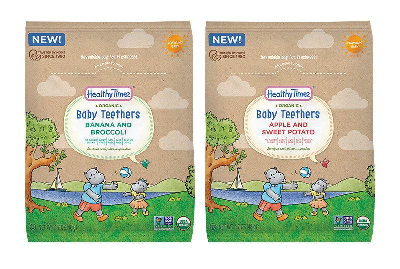 New Healthy Times Organic Baby Teethers