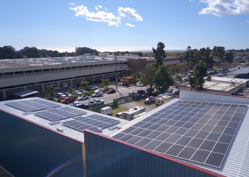 Sandbar Solar, in Santa Cruz, CA, goes off the grid with a new microgrid modeled by HOMER Pro software