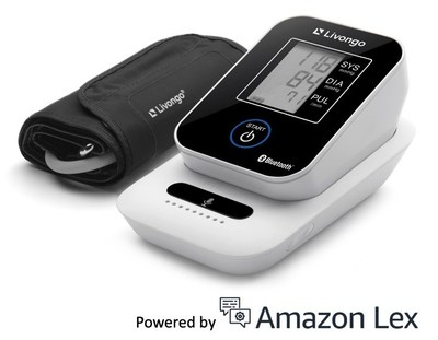 Livongo's New Voice-enabled Cellular Blood Pressure Monitoring System Powered by Amazon Lex and Amazon Polly