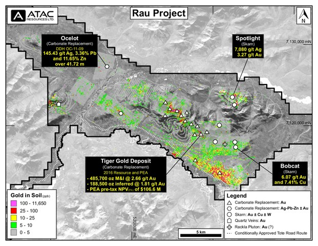 Rau Target Map (CNW Group/ATAC Resources Ltd.)