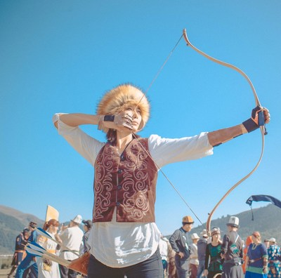archery (PRNewsfoto/World Ethnogames)